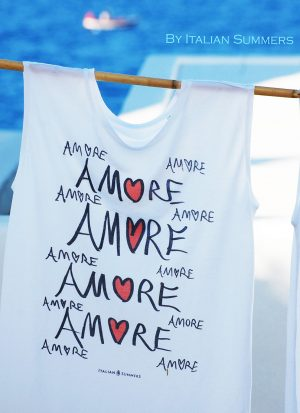 Amore t-shirt by italian Summers