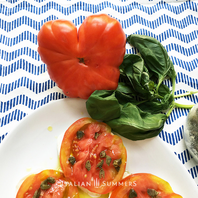 Capers from the Colosseum with recipe by Italian Summers