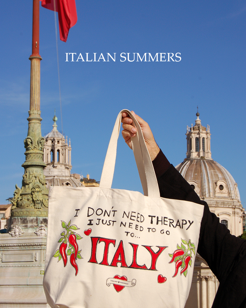 I just need to go to Italy, I don't need therapy! The peperoncino bag! by Italian Summers