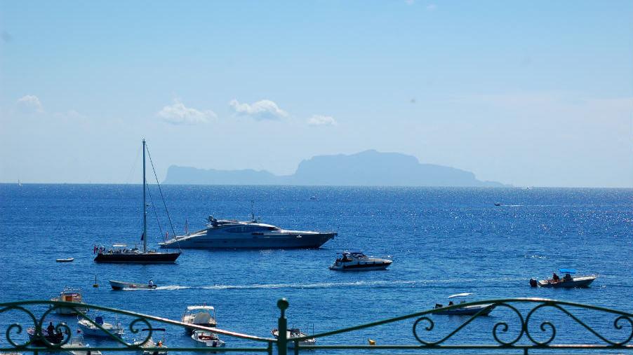 Ischia, Hotel Villa Antonio, Capri view, Photo by Lisa van de Pol, Italian Summers