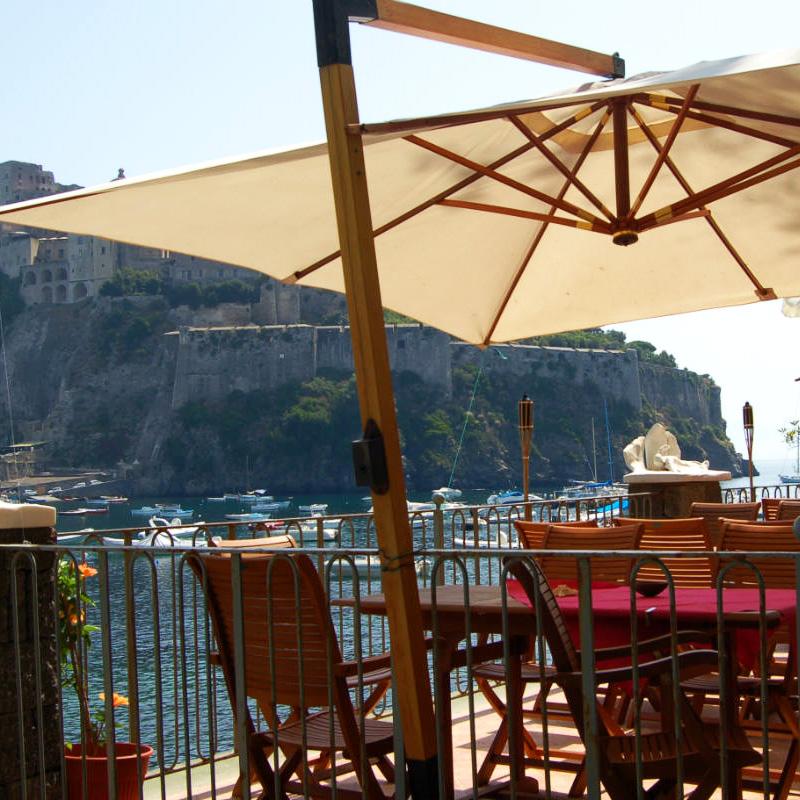 Ischia, Ischia island, Hotel Villa Antonio, the ristorante, Photo by Lisa van de Pol, Italian Summers
