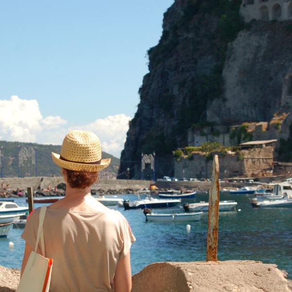 Ischia, Hotel Villa Antonio, view from the castle, Photo by Lisa van de Pol, Italian Summers