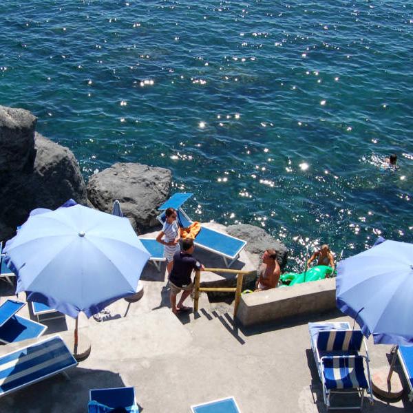 Ischia Ponte, Ischia Island, Hotel villa Antonio, by the sea. Photo by Lisa van de Pol, Italian Summers