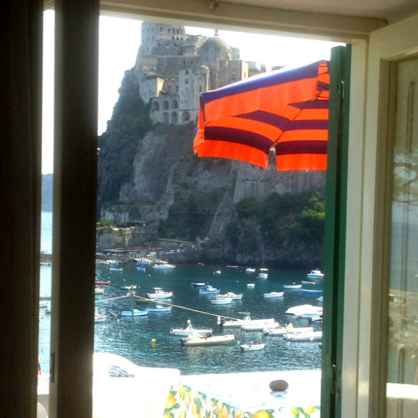 Ischia, Hotel villa Antonio, roomview, Photo by Lisa van de Pol, Italian Summers