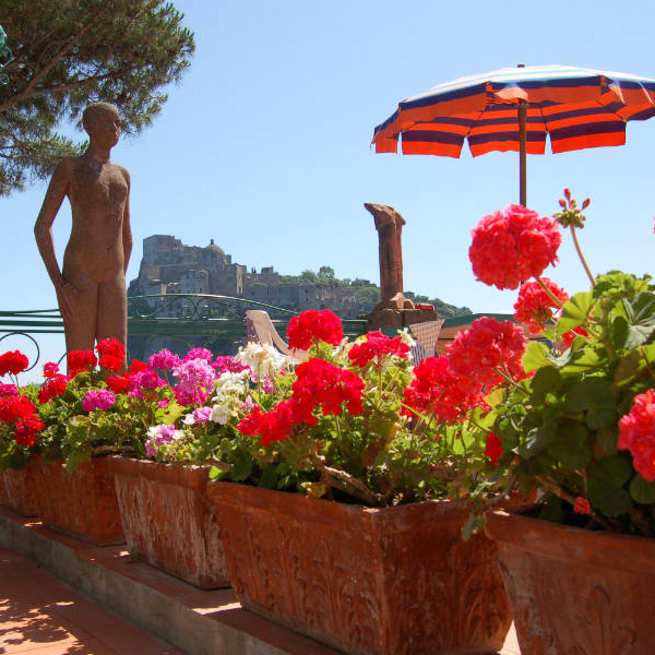 Ischia Island Hotel Villa Antonio, colors, Photo by Lisa van de Pol, Italian Summers