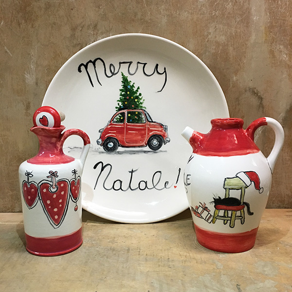 Italian Christmas gifts MERRY NATALE