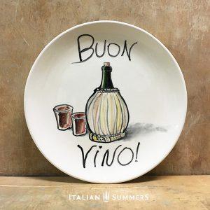 italian-plate-buon-vino-handpainted-ceramic-by-italian-summers
