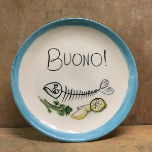 Serving or Decorationplates Vita Italiana