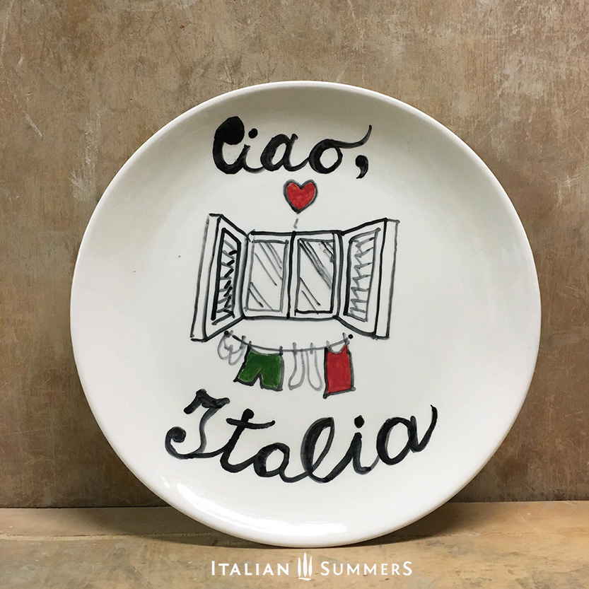 italian-plate-ciao-italia-handpainted-ceramic-by-italian-summers