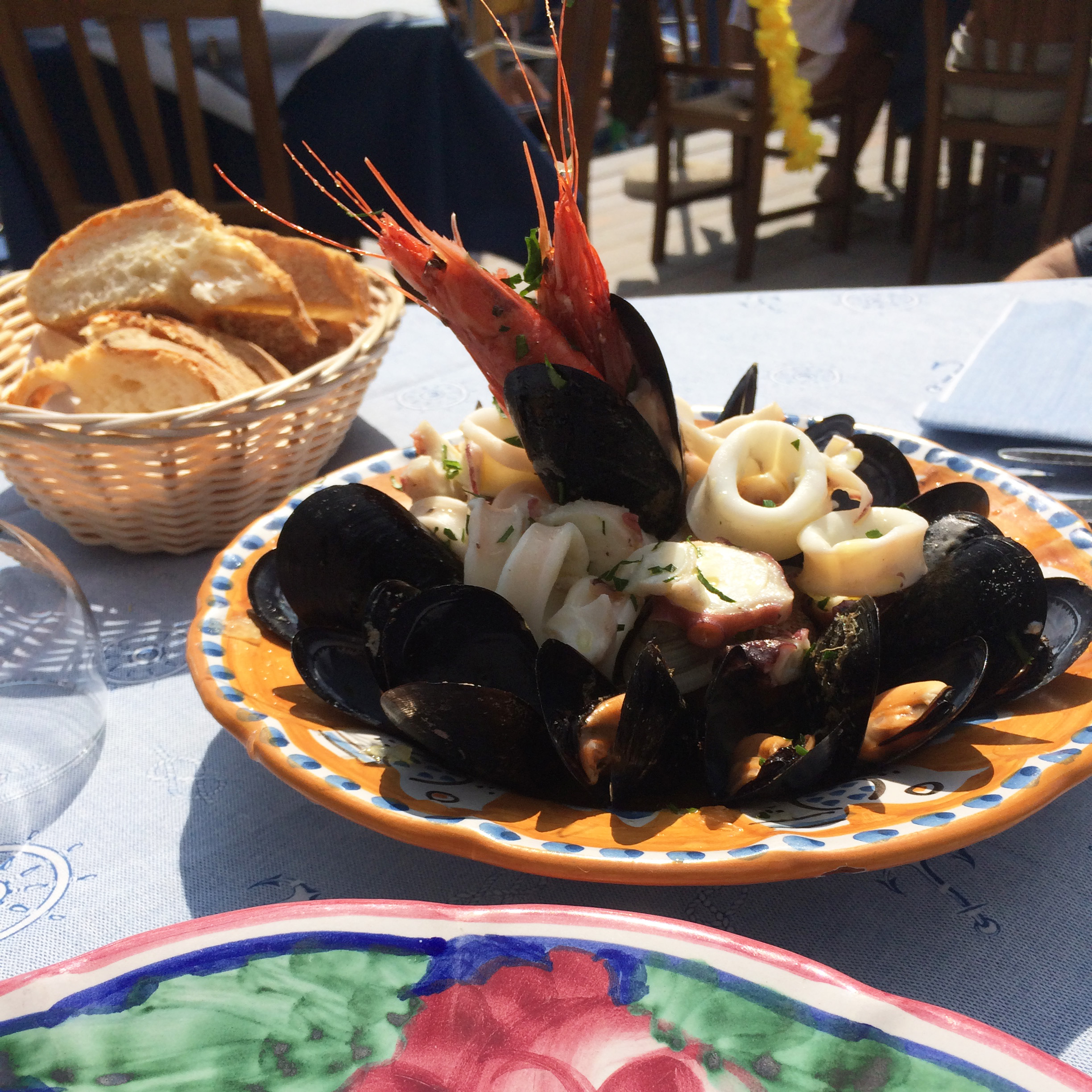 Italian summers on the amalfi coast, italian seafood. Photo by Lisa van de Pol, Italian summers