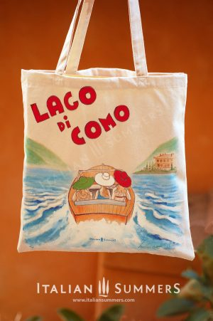 LAKE COMO Riva Ladies Tote Bag by ITALIAN SUMMERS