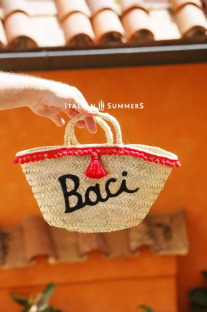 Mini straw bag BACI byITALIAN SUMMERS