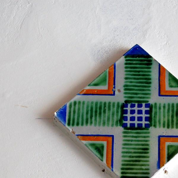 Panarea Island, colored tile, Photo by Lisa van de Pol, Italian Summers