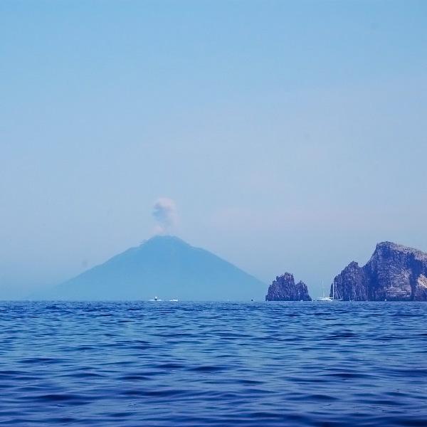 Panarea Island, view on Stromboli. Photo by Lisa van de Pol, Italian Summers