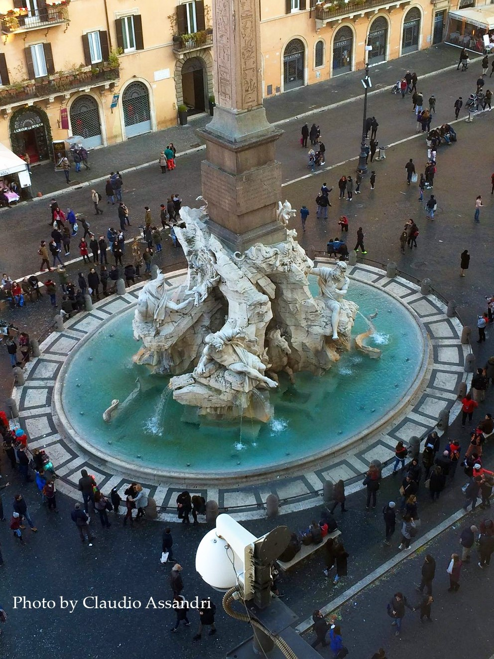 Walking Rome with Claudio Assandri Piazza Navona, Rome at Italian Summers