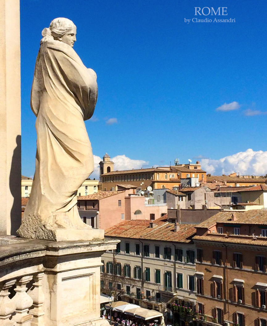 Walking Rome with Claudio Assandri, Piazza Navona, Rome by Claudio Assandri at Italian Summers