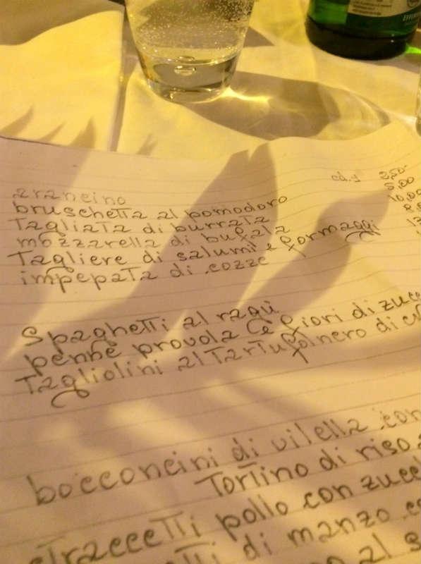 Rome, special dinners. Rome, Italy. Italian Therapy © Photo Lisa van de Pol