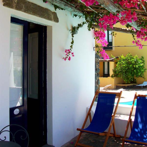 Salina, Hotel Signum, room terrace, Photo by Lisa van de Pol, Italian Summers