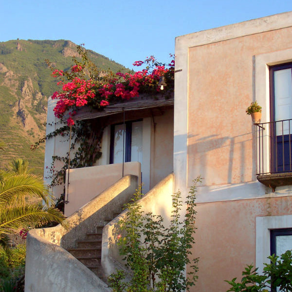 Salina, Hotel Signum, stairs, Photo by Lisa van de Pol, Italian Summers