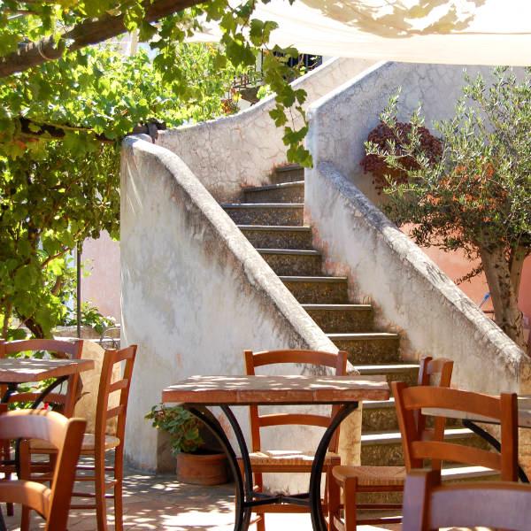 Salina, Hotel signum, terrace stairs, Photo by Lisa van de Pol, Italian Summers