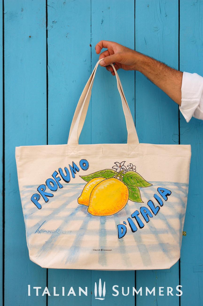 Shopper tote bag PROFUMO D'ITALIA by Italian Summers
