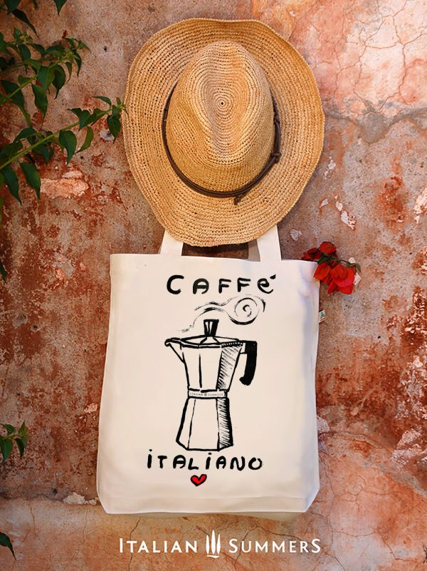TOTE bag CAFFE ITALIANO by Italian summers