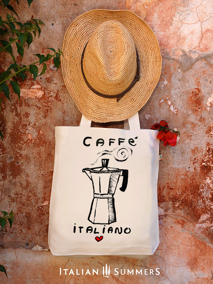 TOTE bag CAFFE ITALIANO by Italian summers