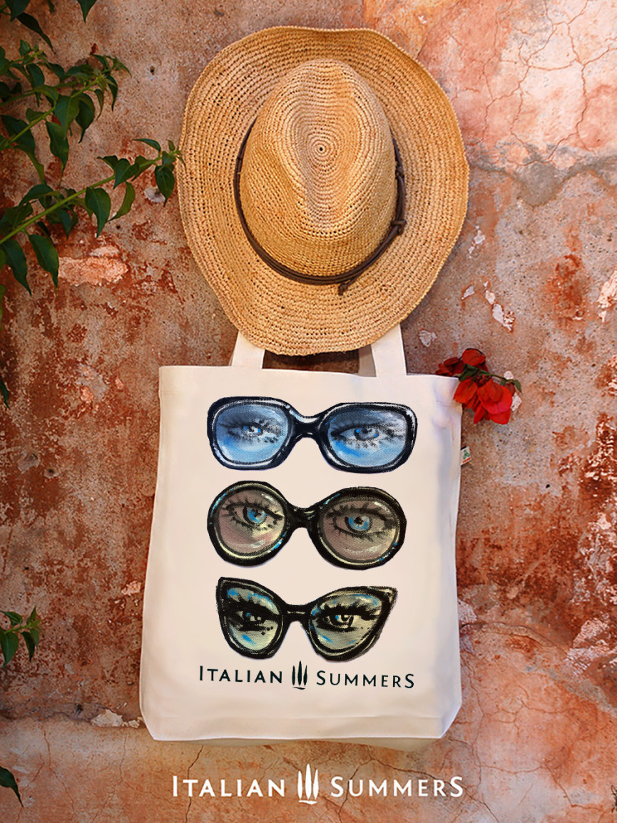 Tote bag ITALIAN SUNGLASSES by italian Summers