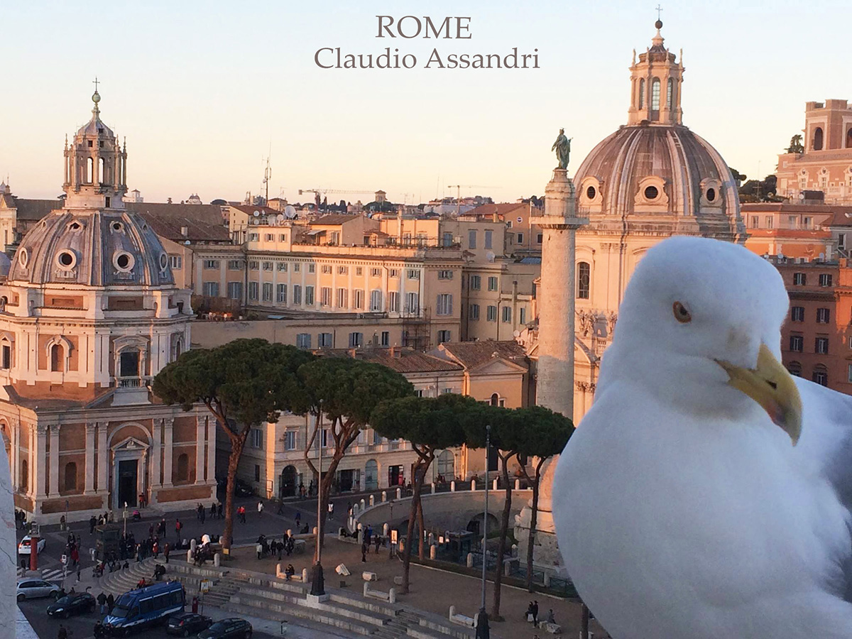 Walking Rome with Artist Claudio Assandri