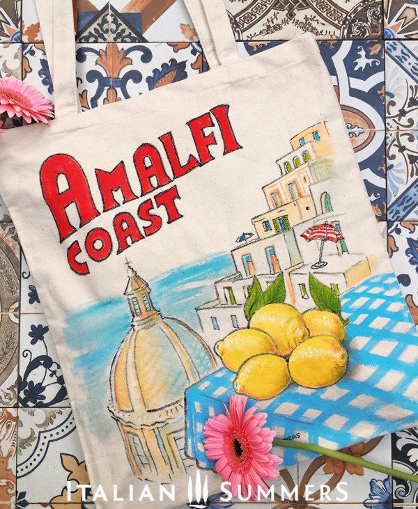 Amalfi Coast Tote bag by Italian Summers