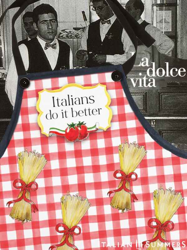 Apron Italians do it better by Italian Summers