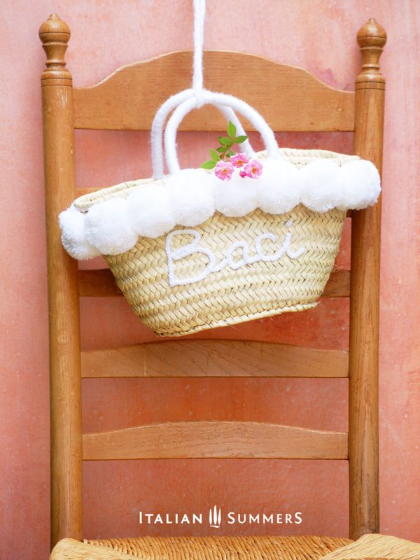 AMALFI COAST STRAW BAG by Italian Summers