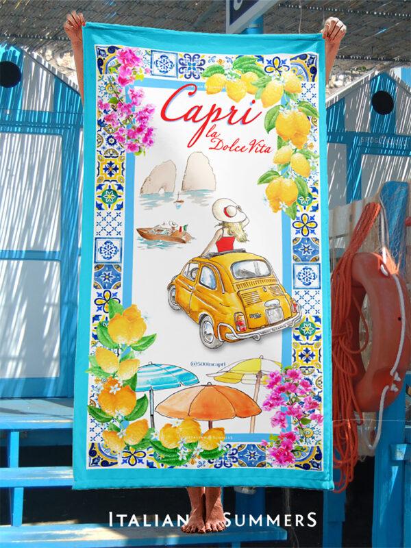Beachtowel CAPRI DOLCE VITA by Italian Summers