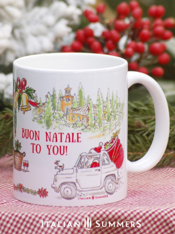 CHRISTMAS IN ITALY Italian Christmas coffee mug by Italian Summers