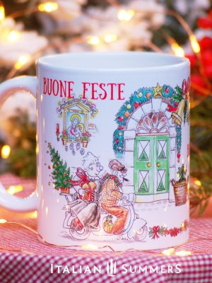 CHRISTMAS IN ITALY Italian Christmas coffee mug