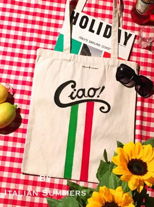 CIAO tote bag by Italian Summers