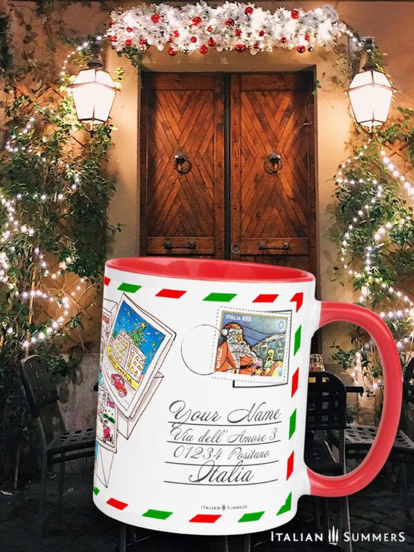 Christmas mug A trip to Italy by Italian Summers