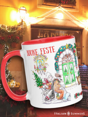 Christmas mug Christmas in Italy Italian Summers