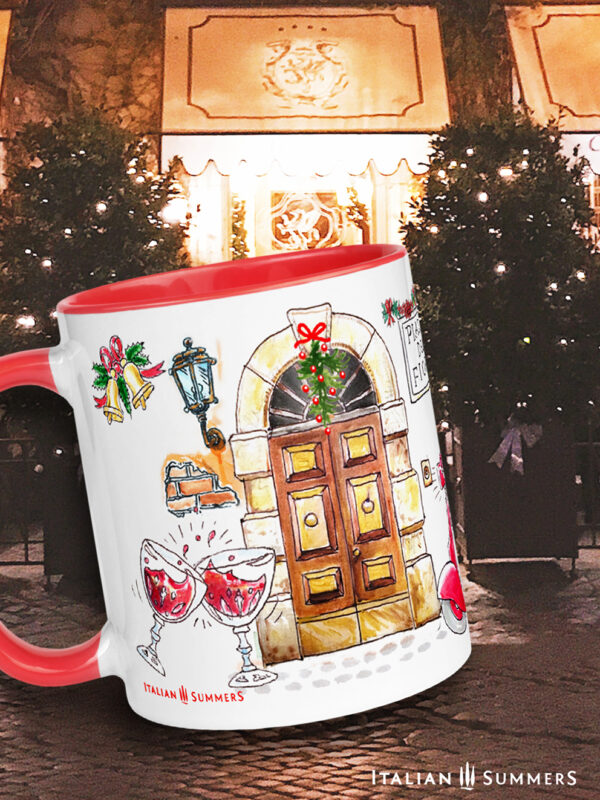 Christmas mug Dolce Diva by Italian Summers