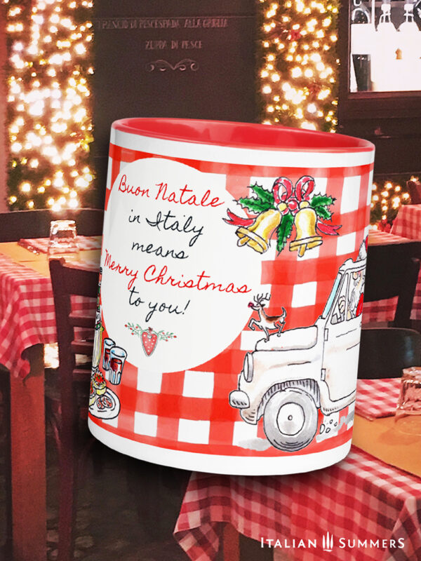 Christmas mug Babbo Natale Italian Summers