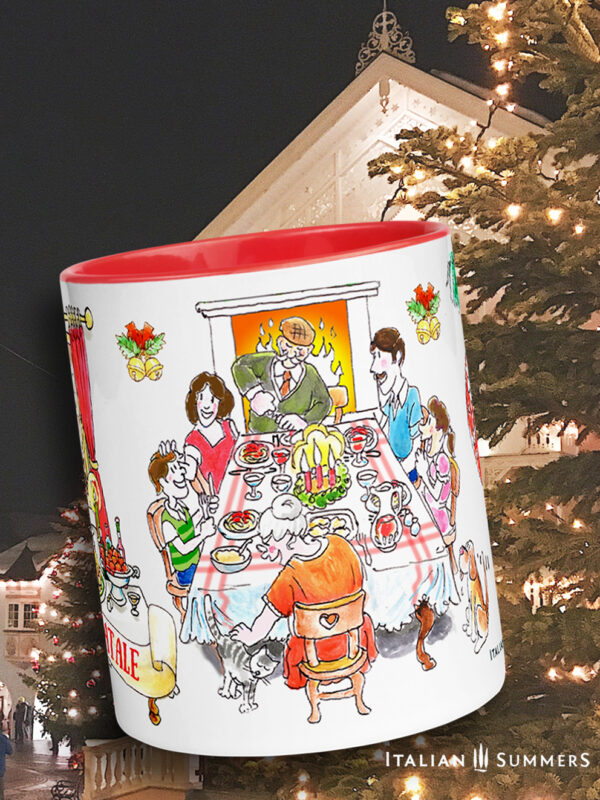 Christmas mug Natale in famiglia by Italian Summers
