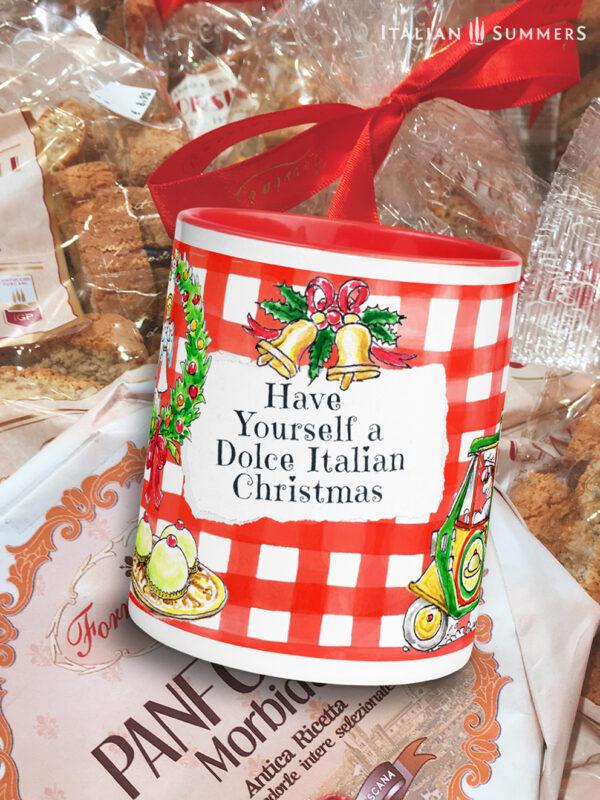 Christmas mug PANE E DOLCE by Italian Summers