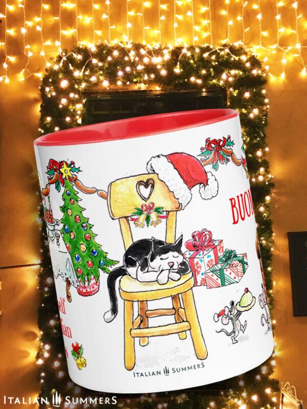 Christmas mug the night before Christmas by Italian Summers