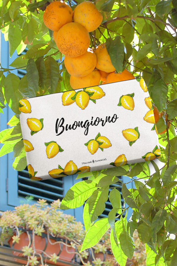 Clutch Buongiorno Limoni by Italian Summers 2020