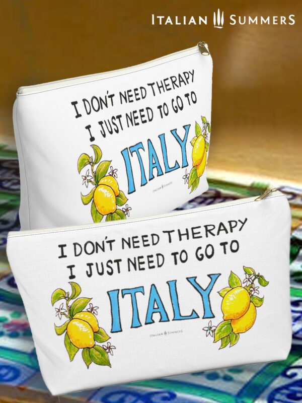Clutch I DON'T NEED THERAPY Just Italy