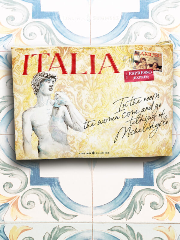Clutch ITALIA LAND OF ART by Italian Summers