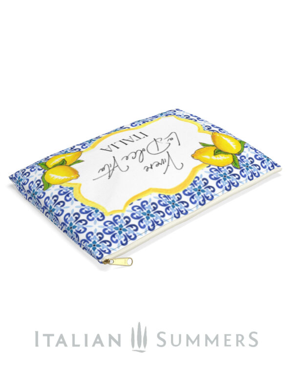 Clutch LA DOLCE VITA italian tiles by Italian Summers