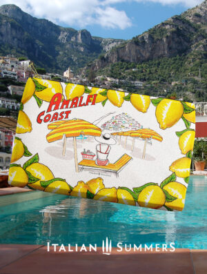 Clutch POSITANO BEACH side by Italian Summers