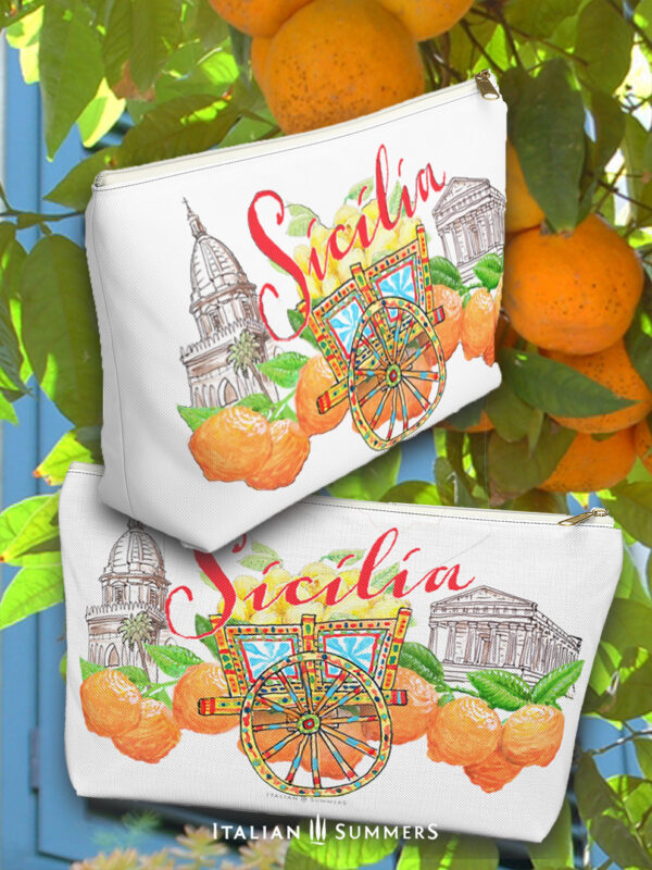 Clutch Sicily Carretto by Italian Summers design