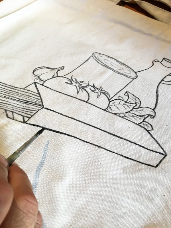 Cucina Italiana bag by Italian Summers detail 1